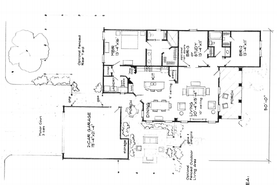 MLS listing layout